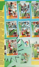 Album de cromos temporada 1994-95