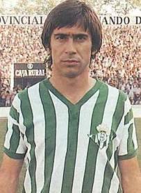Julio Cardeñosa, mejor jugador de la historia del Real Betis Balompié