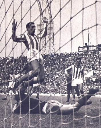 Hoy hace 62 años. Betis 2 Valencia 0