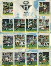 Album de cromos temporada 1981-82