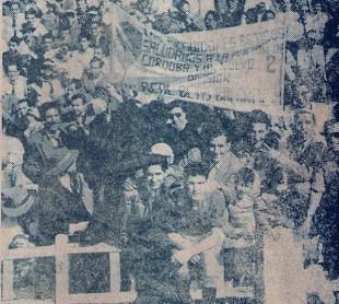 La afición bética en Córdoba 1954