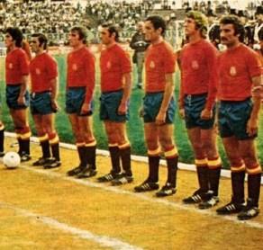 Béticos en la selección. Buenos Aires 1974
