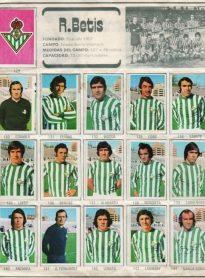 Album de cromos temporada 1976-77