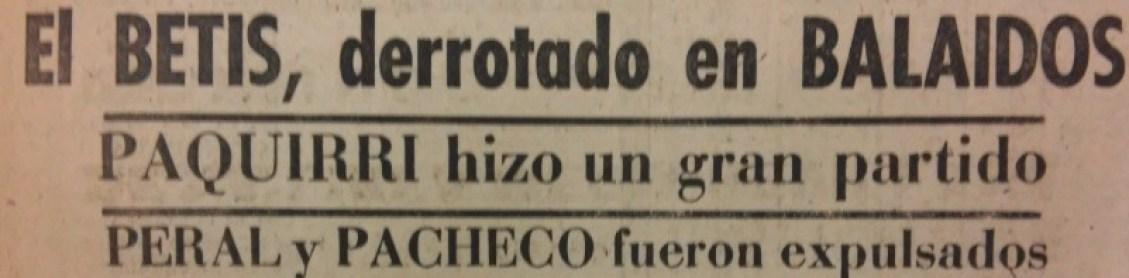 Hoy hace 80 años. Celta 4 Betis 2.