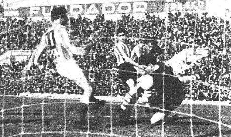 Hoy hace 60 años. Betis 1 Athletic 0.