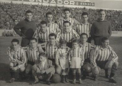 Alineación Betis-San Alvaro Liga 1954