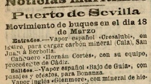 Hoy hace 110 años. Sevilla Balompié 5 Vapor Glenmore 1.