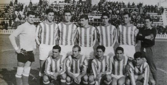 Alineación Balón Cádiz-Triana Liga 1965