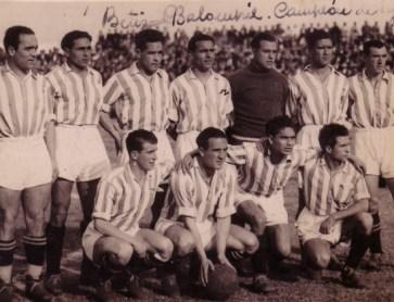 Alineación Betis-Madrid Liga 1935