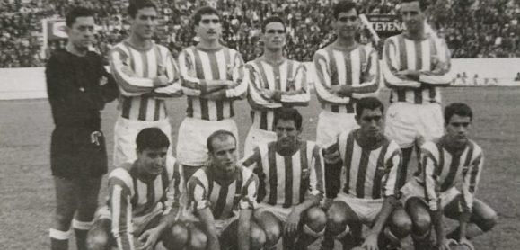 Alineación Triana-Coria Liga 1964