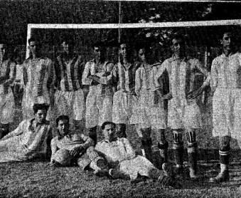 Hoy hace 100 años. Sevilla 1 Betis 3.