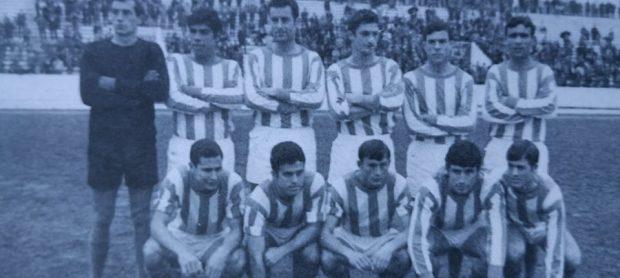 Alineación Triana-Atl. Marbella Liga 1969
