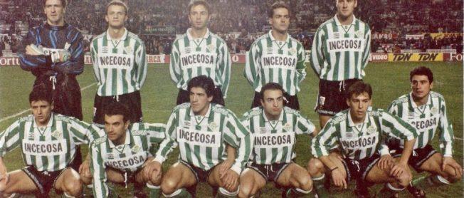 Alineación Sevilla-Betis Liga 1995