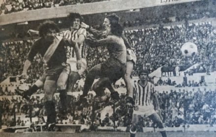 Betis-Rayo Vallecano Liga 1978