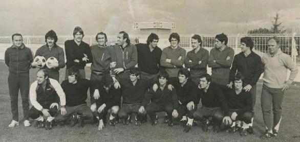 Julio Cardeñosa con la selección 1978