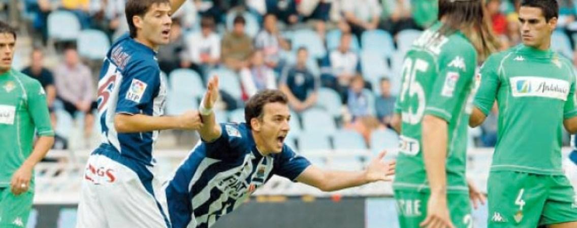 Hoy hace 15 años. Real Sociedad 1 Betis 1.
