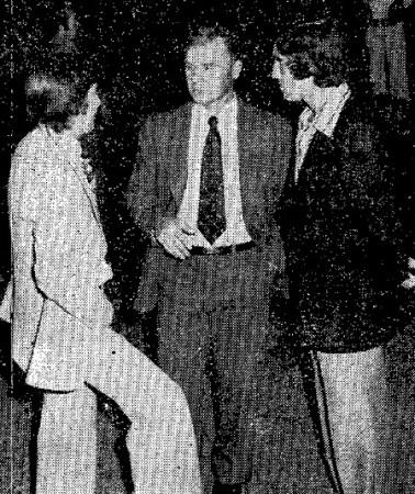 Hoy hace 45 años. Alabanda, Biosca y López en una concentración de la selección.