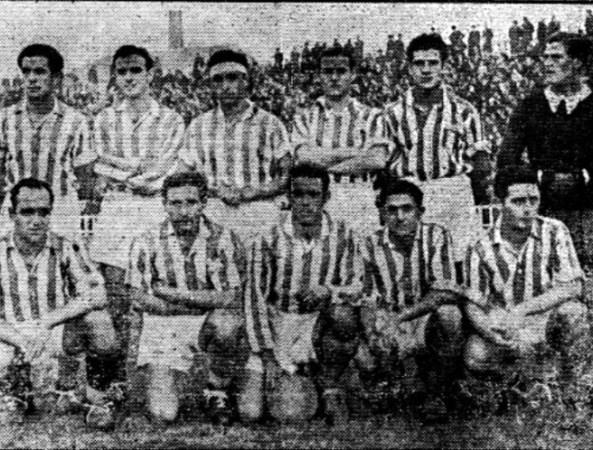 Alineación Barcelona-Betis Liga 1939.