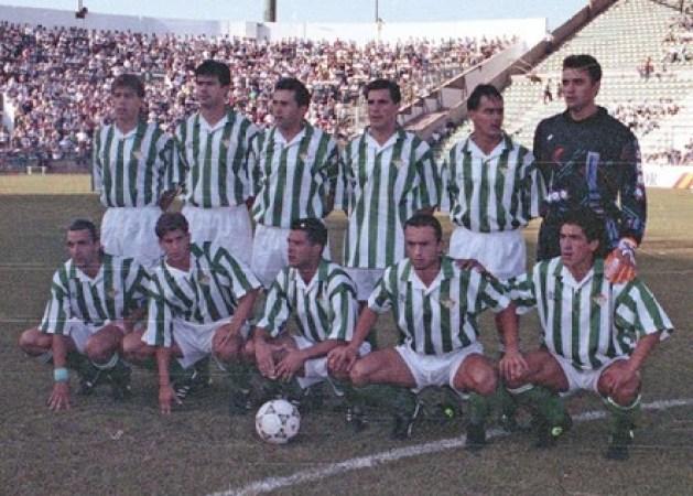 Alineación Betis-Mérida Liga 1993.