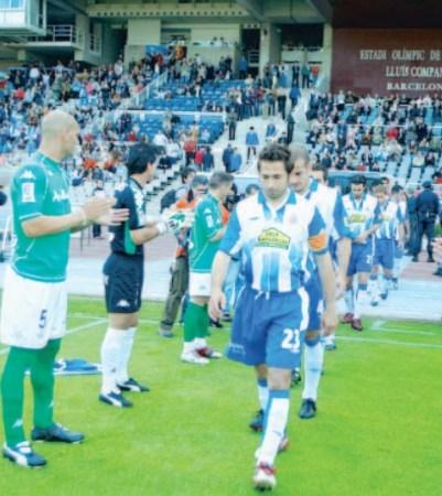 Espanyol-Betis Liga 2006.