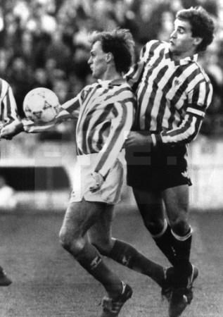 Hoy hace 30 años. Betis 1 Athletic 0.