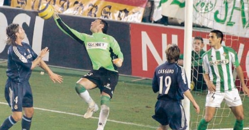 Hoy hace 15 años. Betis 0 Real Madrid 1 en Copa.