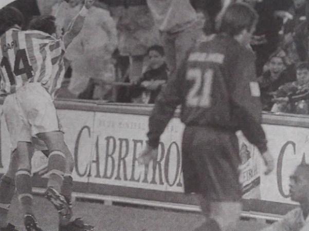Hoy hace 20 años. Betis 1 Levante 0.
