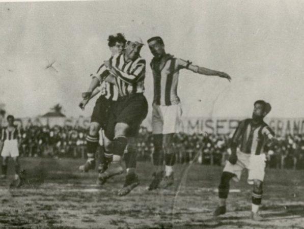 Hoy hace 95 años. Betis 3 Atlético Madrid 2 en Copa.