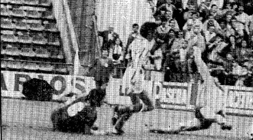 Hoy hace 35 años. Betis 1 Barcelona 1.