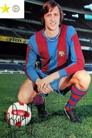 Grandes adversarios del Balompié. Johan Cruyff.