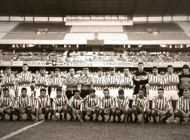 Hoy hace 30 años. Presentación del Betis.