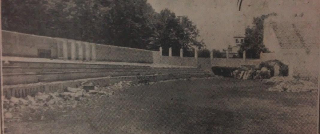 Hoy hace 63 años. Obras de ampliación en Heliópolis.