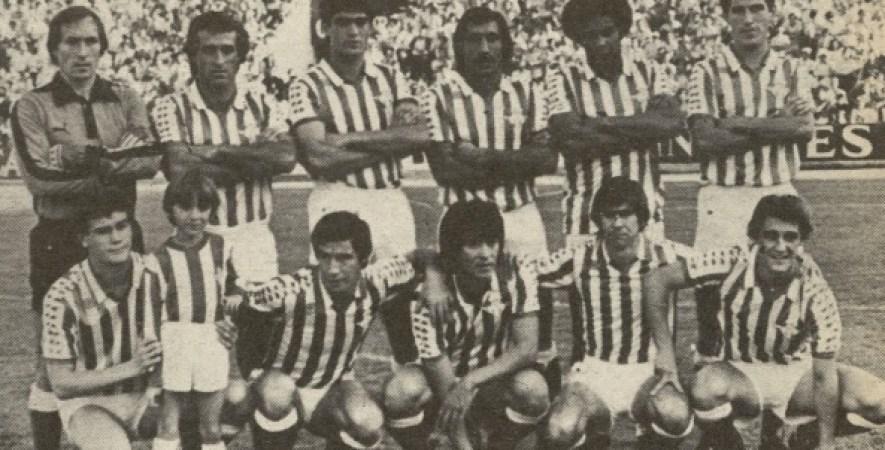 Alineación Betis-Espanyol Liga 1981.