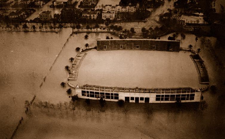 Heliópolis inundado  Marzo 1947