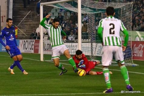 Penalti a Molina (Betis - Tenerife 14/15)