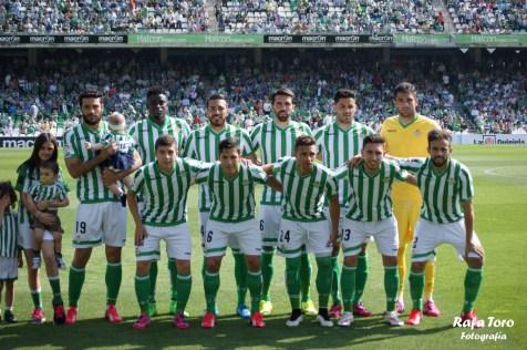 Once (Real Betis 3-0 Osasuna)