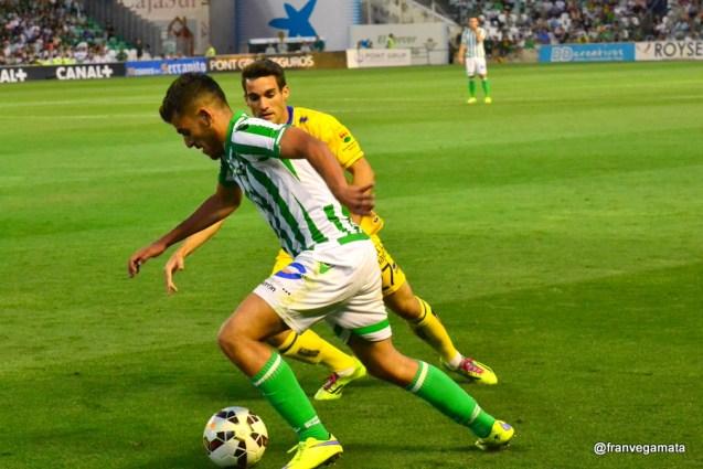 Regate de Dani Ceballos (Betis-Alcorcon 14/15)
