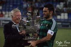 Molina, con el trofeo Colombino