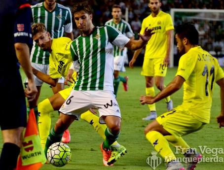 Cejudo se va de la marca (Betis - Villarreal 15/16)