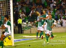 Celebración del gol (Real Betis - Villarreal 15-16)