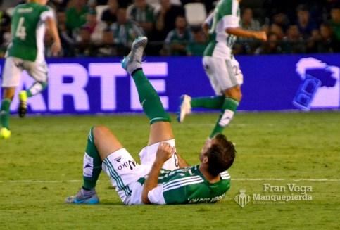 Van Der Vart se lesiona (Betis-Deportivo 15/16)
