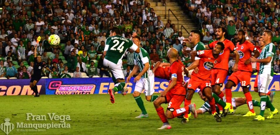 Fuera de juego de Ruben (Betis-Deportivo 15/16)