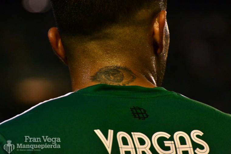 Vargas no te pierde de vista  (Betis-Deportivo 15/16)