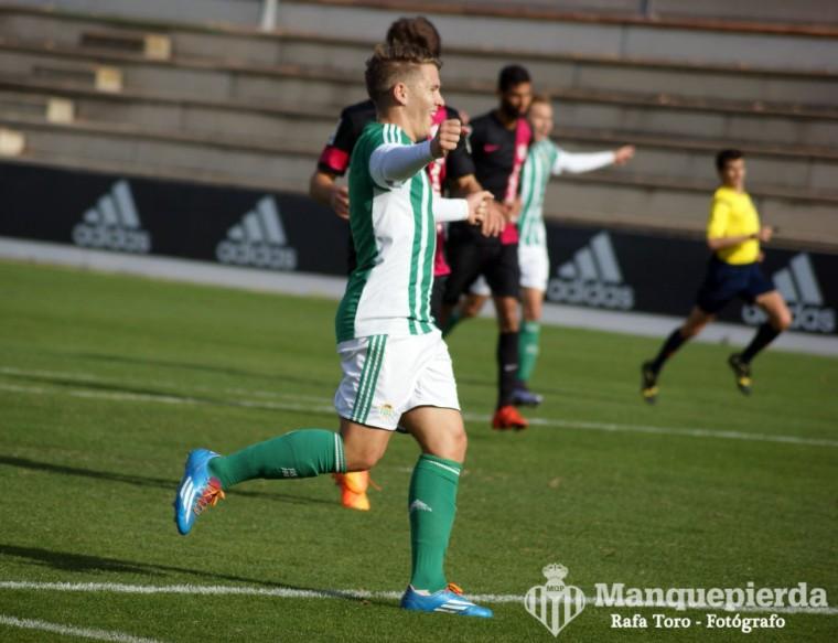 Juanma fue ayer el mejor del filial en Villanueva de la Serena.