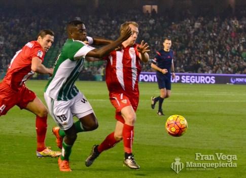 Intensidad en caada balón (Betis-Sevilla 15/16)