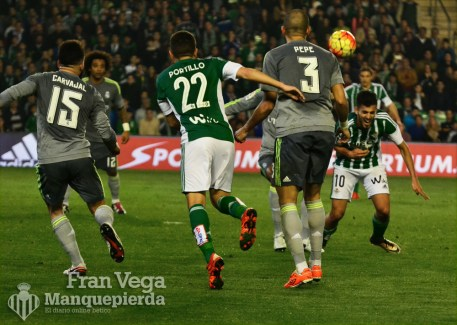 Penalti a Ceballos (Betis-Madrid 15/16)