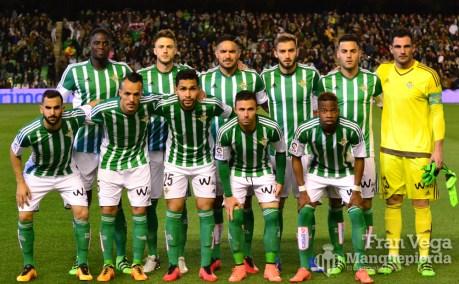 Alineación inicial (Betis-Sporting 15/16)