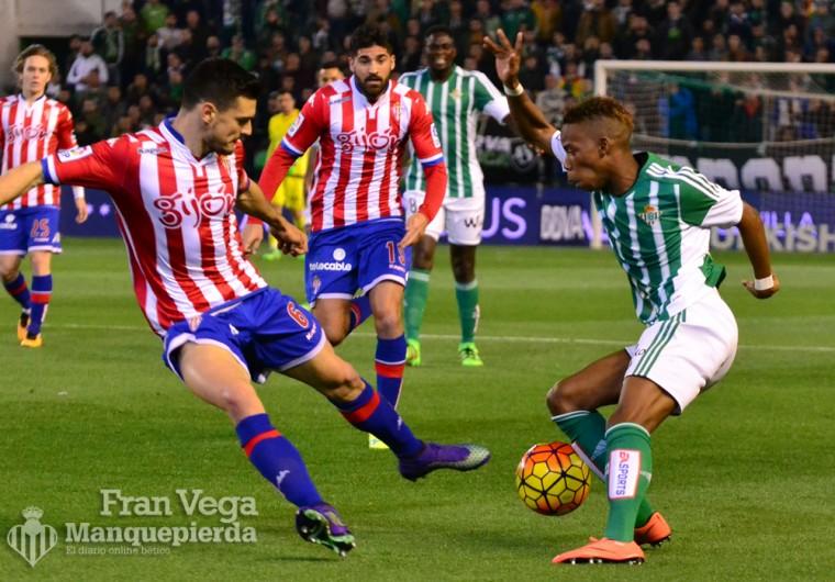 Musonda haciendo de las suyas (Betis-Sporting 15/16)