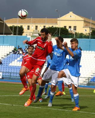 Melilla 1-1 Murcia- Foto: laopiniondemurcia.es