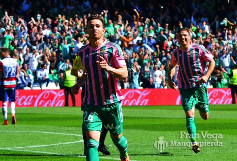 Ruben no falla a la cita del gol (Betis-Granada 15/16)